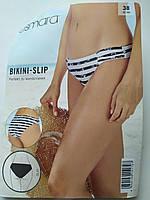 ESMARA® бело-черный в полоску женский купальник раздельный 36-42 размер 38-42 плавки