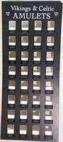 Амулетов Викингов на 32 шт / Стенд для Амулетов 70x29 см