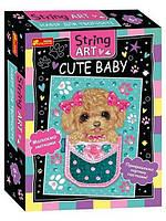Набір для творчості String ART.Cute baby Ranok-Creative