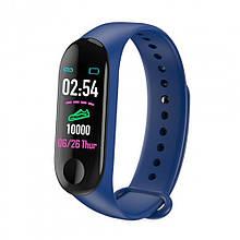 Смарт-годинник Smart Watch M3. Колір: синій
