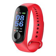 Смарт-годинник Smart Watch M3. Колір: червоний