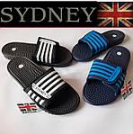 Мужские массажные шлепанцы, шлепки, сланцы с массажной стелькой, Sydney (Великобритания).