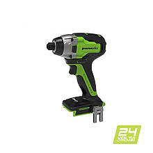 Винтоверт ударный аккумуляторный Greenworks GD24ID3 без АКБ и ЗУ