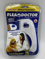 Електрична щітка для тварин FLEA DOCTOR з функцією знищення бліх / ART-0410 (120шт)