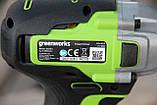 Гвинтоверт ударний акумуляторний Greenworks GD24ID3 без АКБ і ЗП, фото 6