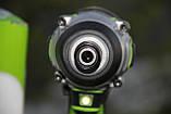 Гвинтоверт ударний акумуляторний Greenworks GD24ID3 без АКБ і ЗП, фото 7