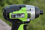 Винтоверт ударный аккумуляторный Greenworks GD24ID3 без АКБ и ЗУ, фото 5
