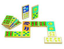 Домино Мир деревянных игрушек Счет Д395, КОД: 2439143