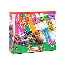 Игра настольная Vladi Toys Домино 44 Кота VT8055-14, КОД: 2439478