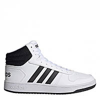 Кросівки adidas Hoops 2.0 Mid White/Black Оригінал, фото 1