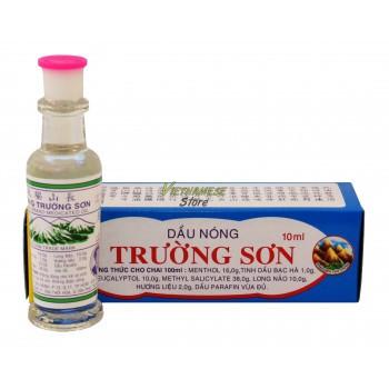 "Разогревающее лекарственное масло ""Truong Son Heating Meadicated Oil"" 10ml"