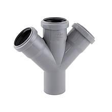 Крестовина канализационная TA Sewage 50, 45°
