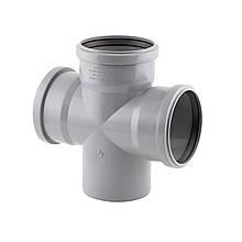 Крестовина канализационная TA Sewage 110, 90°