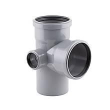 Крестовина канализационная TA Sewage 110х110х110х50, 90° (левая)