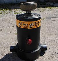 Гидроцилиндр подьема платформы (кузова) НЕФАЗ  (8560-8603010-06) 4-х штоковый