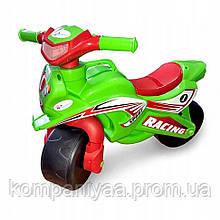 Дитячий музичний мотоцикл-толокар Doloni 0139/1/6 (Зелений)