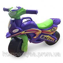 Дитячий музичний мотоцикл-толокар Doloni 0139/1/6 (Фіолетовий)