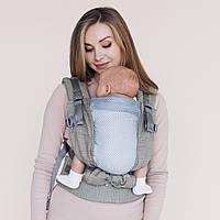 Эрго рюкзак one+ cool organic кардамон Love & Carry®