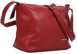 Жіноча шкіряна сумка через плече Borsacomoda червона 810.022