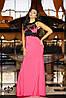 Платье с декором | Кассандра без шлейфа lzn, фото 2