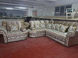 Комплект мягкой мебели Восток (угловой диван + 1 кресло) СлонимМебель