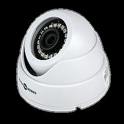 Гибридная купольная внутреняя камера GreenVision GV-037-GHD-H-DIS20-20