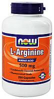 NOW Аргинин Arginine 500 mg (250 caps)