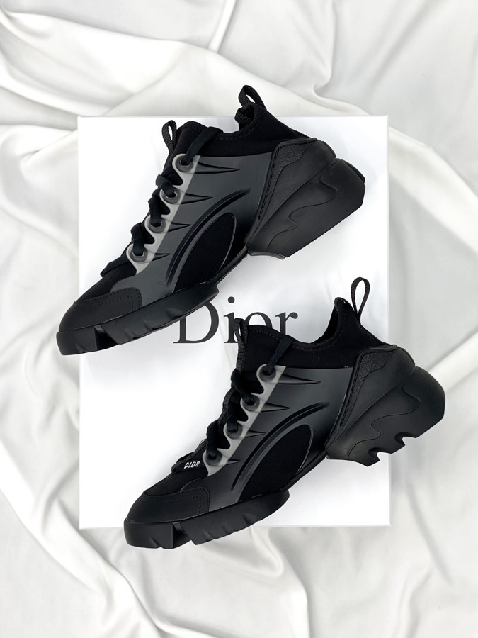 Женские кроссовки Dior D-connect Black