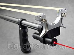 Мощная катапультная рыболовская рогатка з лазерным прицелом