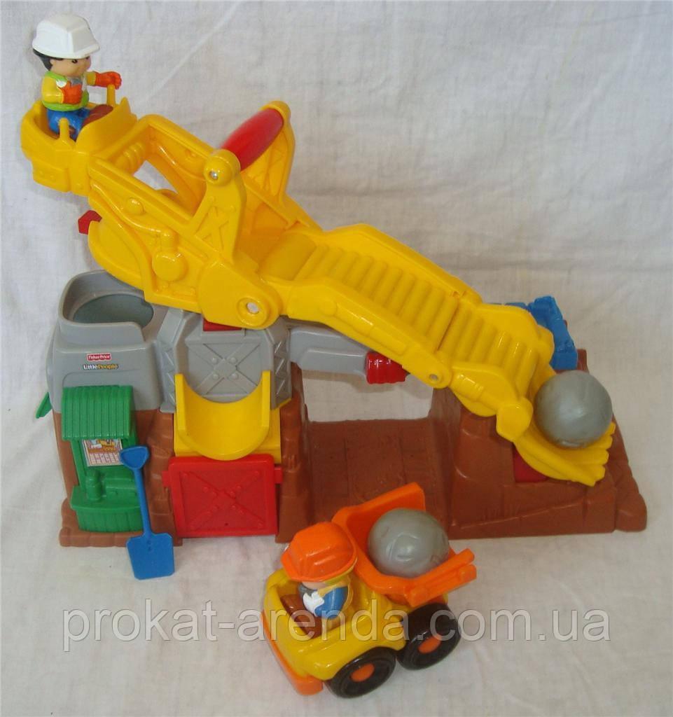 """Развивающая игрушка """" Стройка"""" от Fisher price"""