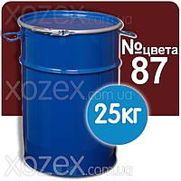 Красно-коричневая №87 ПФ 266 Краска для пола Декарт 25кг