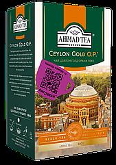 Чай Ахмад Ті Цейлон Оранж Пеко Голд чорний листовий 100 грам