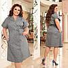 Літнє плаття-сорочка великого розміру, з 48 по 66 розмір