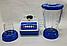 Кухонний блендер - кофемолка WimpeX WX-999 / харчової екстрактор / кухонний подрібнювач / шейкер для смузі, фото 3