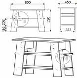 Журнальний стіл Джаз - 3, фото 3