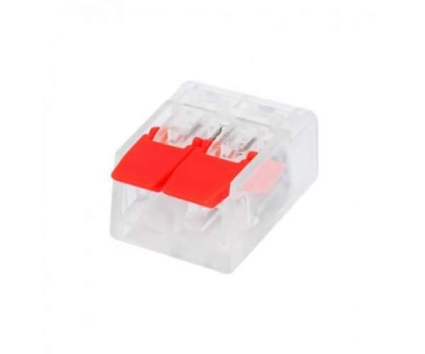 Розем 2-х полюсний SLIM CONNECTOR-2 (Horoz Electric)