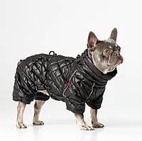 Одежда для собак,Теплый, водостойкий комбинезон для собак для французского бульдога, мопса. ALASKA BLACK