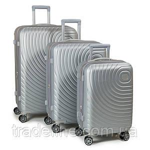 PODIUM Дорожня Валіза 31 ABS-пластик 8342 grey