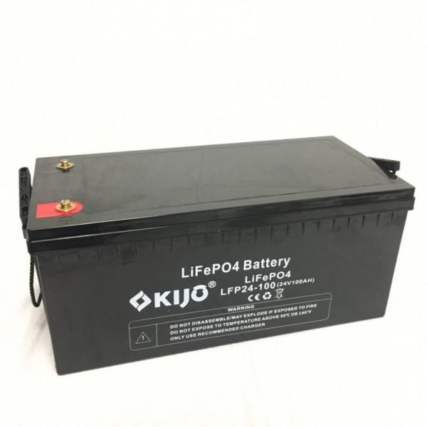 Акумулятор Kijo LiFePo4 24V 100Ah
