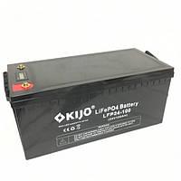 Аккумулятор Kijo LiFePO4 24V 100Ah   (з LED дисплеем )