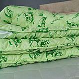 Одеяло Arda «Eucalyptus» салатовое с рисунком 175х215, фото 4