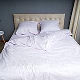 """Комплект постельного белья Le Confort """"Белая полоска"""" Двуспальный, фото 3"""
