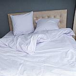 """Комплект постельного белья Le Confort """"Белая полоска"""" Евро, фото 2"""