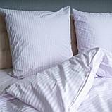 """Комплект постельного белья Le Confort """"Белая полоска"""" Евро, фото 4"""