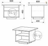 Журнальний стіл МГ - 5, фото 4
