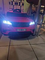 Новый новый Детский электромобиль Land Rover красный одноместный