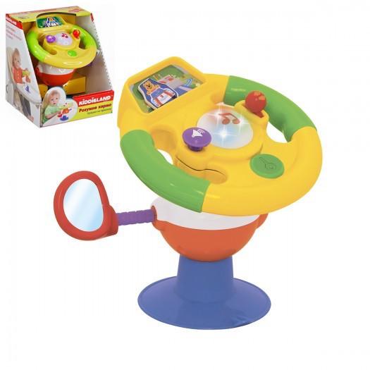 """*Музична іграшка на присосці """"Розумний кермо"""" Kіddіeland (укр.озвучка) арт. 058305"""