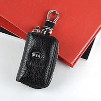 Чехол для ключей с карабином KIA   2861