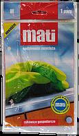 Перчатки хозяйственные резиновые Mati (S, M, L)