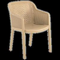 Крісло Tilia Octa колір кави